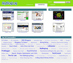 Promote your blog or Web site with MyBlogLog
