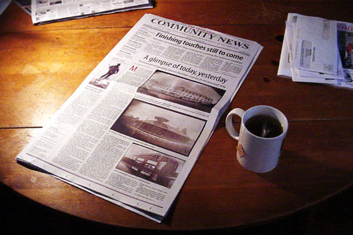 Blogs vs. newspaper advertising: A comparison